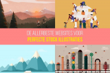 De allerbeste websites voor perfecte stockillustraties, afbeeldingen en vectoren