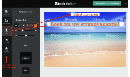 Edit iStock images